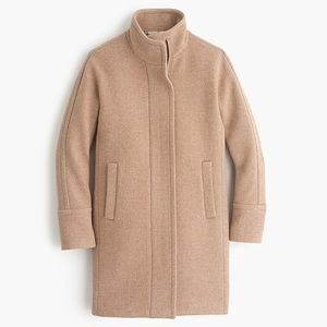 JCrew Stadium Cloth Wool Cocoon Coat